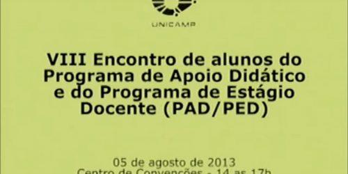 8º Encontro PAD/PED