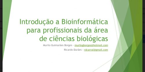 Curso de Bioinformática